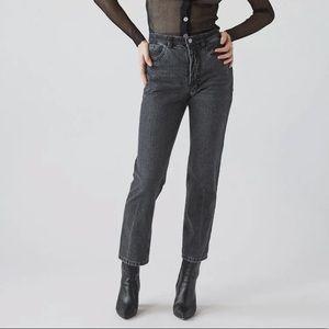 RACHEL COMEY- New Norm Pant Washed Black Denim